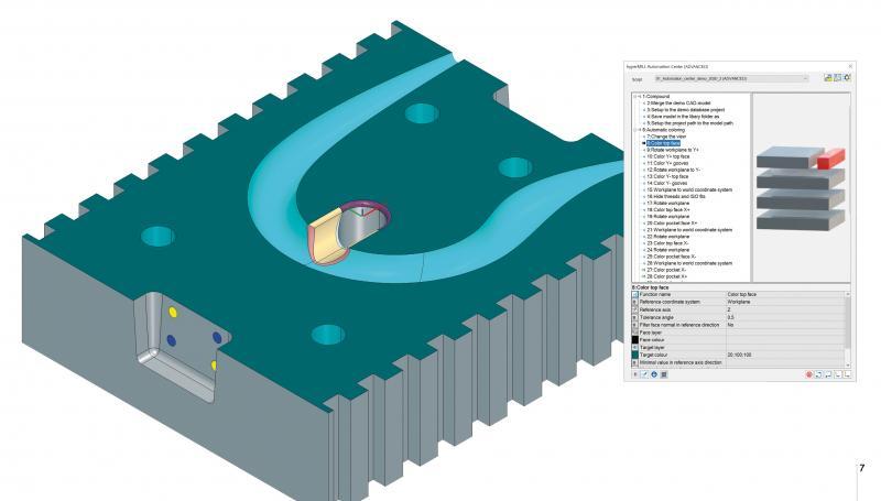 """Das """"hyperMILL® AUTOMATION Center Advanced"""" bietet umfangreiche Vorlagefunktionen."""