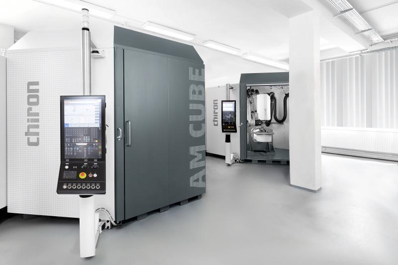 Erster 3D-Metalldrucker made by CHIRON