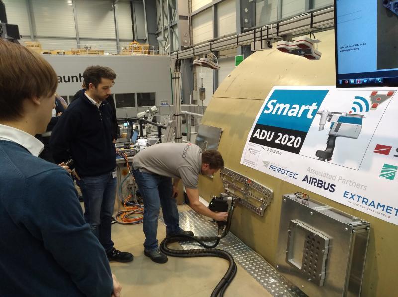 ILA 2020: Flugzeug-Fertigung fehlerfrei und schnell durch digitalisierte Flugzeugmontage
