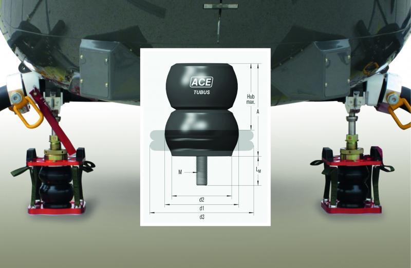Das Gesamtdämpfungssystem der SMJ Sondermaschinenbau GmbH bietet sicheren Schutz für das Landesystem und die Struktur von Hubschraubern in Transportflugzeugen
