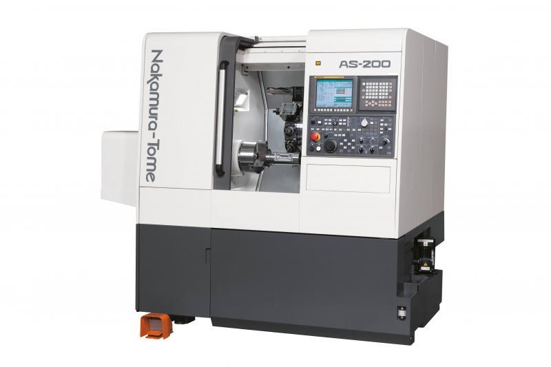 Mit den AS-200 Modellen des japanischen Werkzeugmaschinenherstellers Nakamura-Tome bietet Hommel die absoluten Einsteiger-Drehmaschinen für Komplettbearbeitungen an.