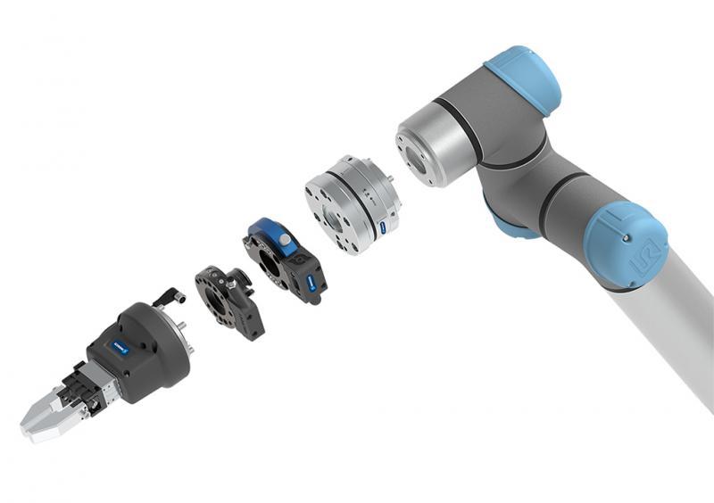 Mit seinem abgestimmten Profiprogramm an Greifern, Schnellwechselsystemen und Sensoren ermöglicht SCHUNK einen schnellen und einfachen Einstieg in die Leichtbaurobotik.