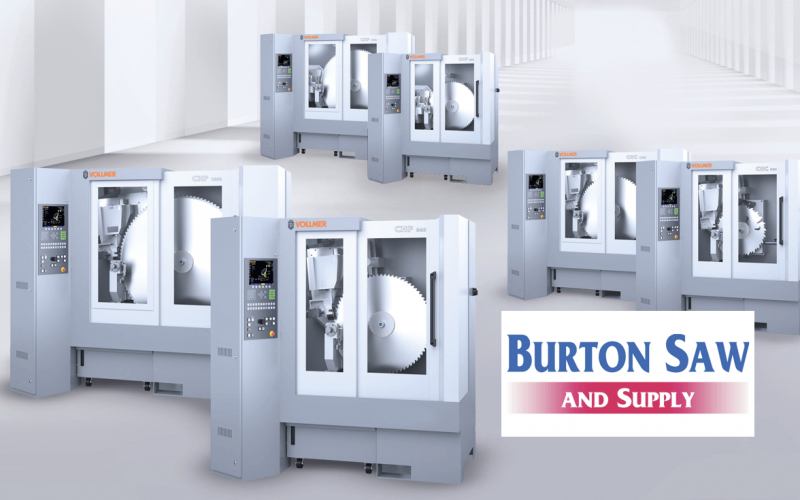 VOLLMER of America Announces new Business Partnership with Burton Saw & Supply