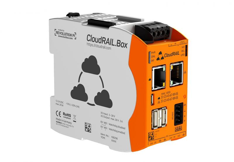 ifm and CloudRail announce strategic partnership for the IIoT