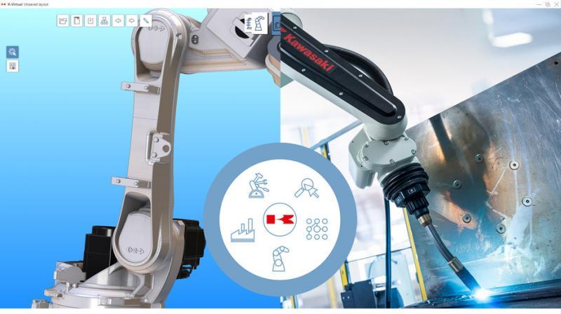 Kawasaki Robotics introduces new 3D simulation platform based on CENIT FASTSUITE technology