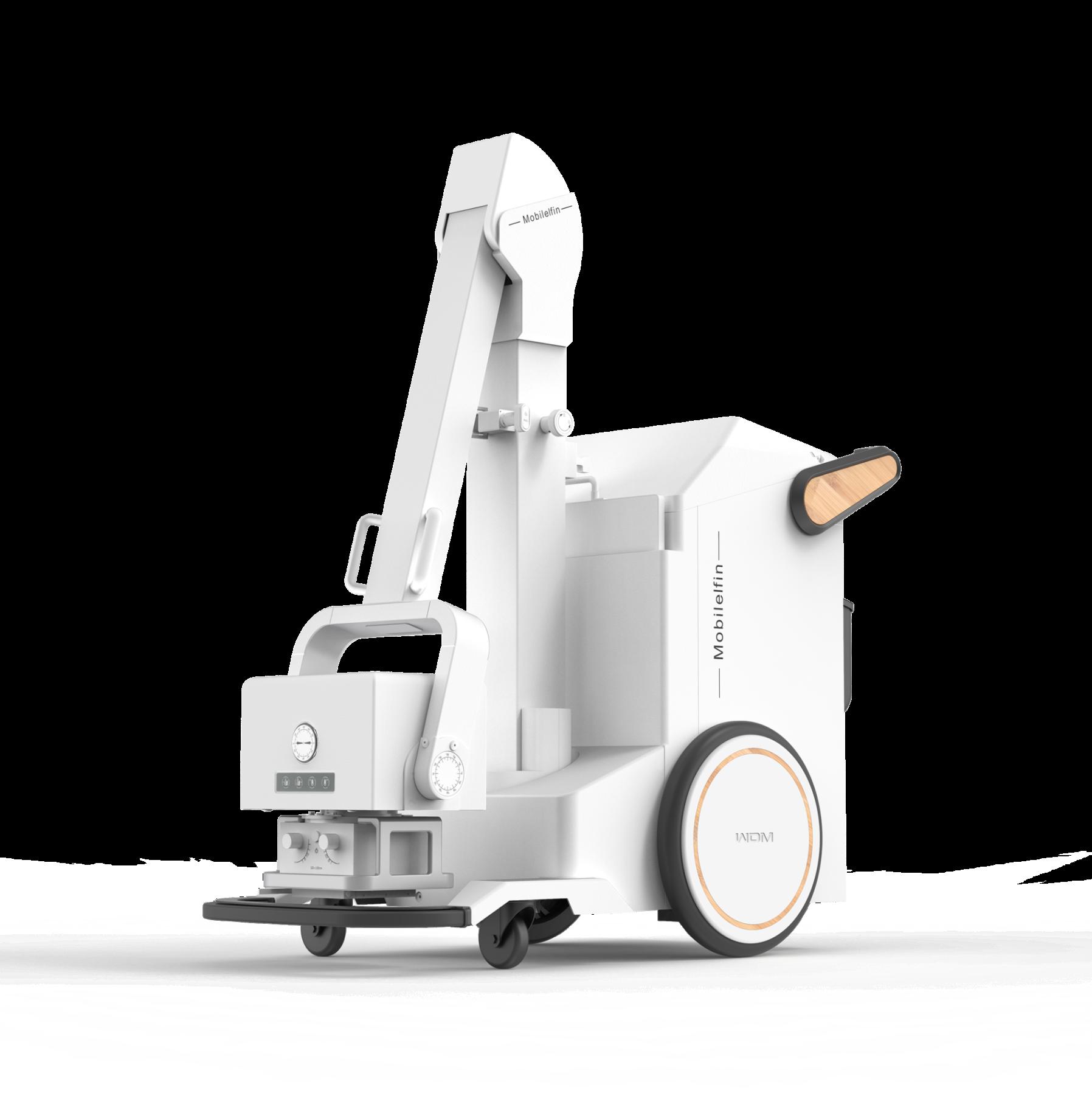 Die digitalen mobilen Röntgeneinheiten von Wandong sind extrem kompakt. Transport und Bedienung können durch eine Person erfolgen, nötige Komponenten wie Röntgendetektor, Röntgengenerator und Laptop mit Bildverarbeitungssoftware sind im Gerät vereint