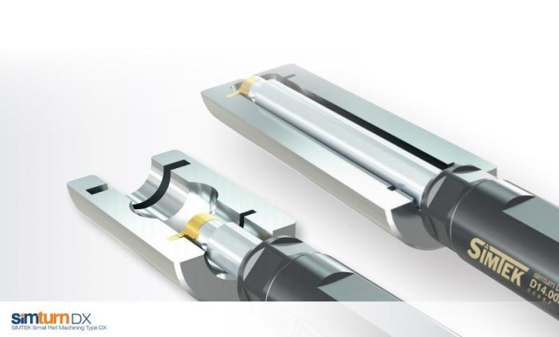 Dank ihrer Längenverstellbarkeit eignen sich diese simturn DX - Klemmhalter ideal für den Einsatz in unterschiedlichen Bauteilen - vor allem in der Kleinserienfertigung.