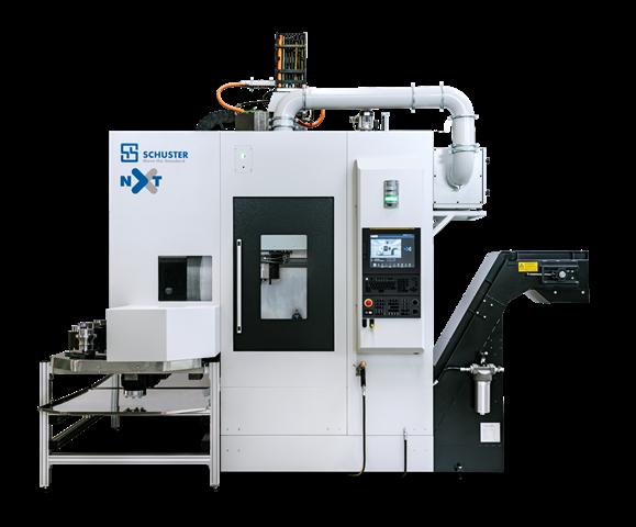 Die Schuster nxt ist die aktuelle Vertikaldrehmaschine der Schuster Maschinenbau GmbH. Zusammen mit dem Project-Engineering-Team von CERATIZIT wurde ein Werkzeugkonzept ausgearbeitet, mit dem sich auch komplexeste Bauteile in höchster Qualität realisieren lassen.