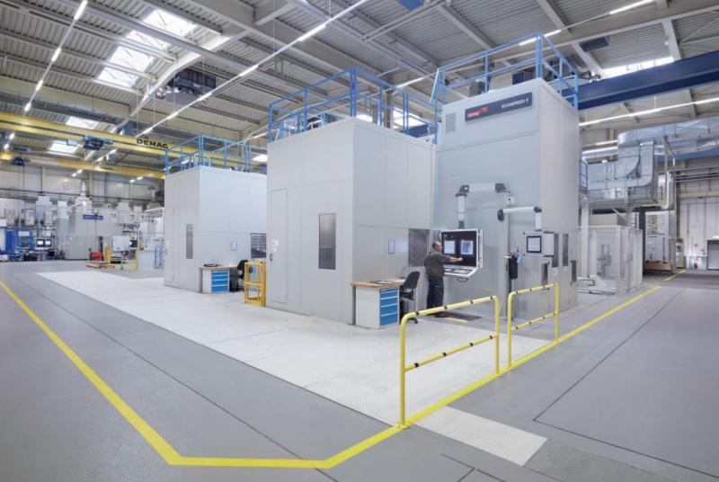 Der modernste Maschinenpark Europas besitzt seit kurzem ein Starrag ECOSPEED F 2040 FFS, das aus zwei miteinander verketteten Bearbeitungszentren besteht