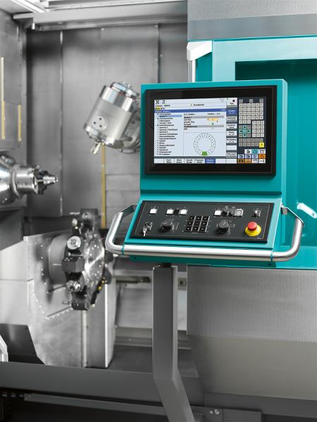 The latest C200 Sli INDEX controller generation is based on the Siemens Sinumerik 840D sl (solution line) and features an 18.5