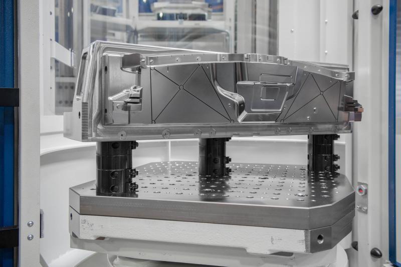 In Verbindung mit einer möglichst automatisierten Fünf-Seiten-Bearbeitung müssen bei Koller in Dietfurt große Herausforderungen bei der Werkstückspannung gemeistert werden.