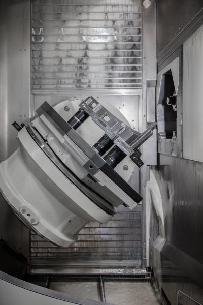 Auf fast allen der 22 Maschinen bei Koller in Dietfurt sind AMF Nullpunktspannsysteme im Einsatz.