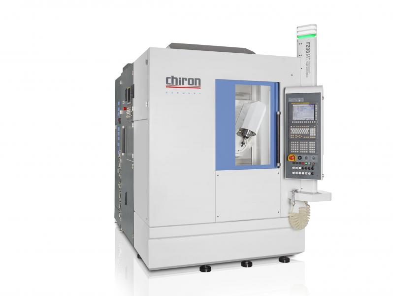 Die CHIRON FZ 08 S mill turn precision+ wurde speziell für die Medizintechnik konzipiert.