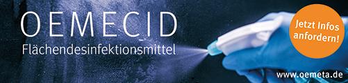 OEMETA – Kühlschmierstoffhersteller produziert auch Desinfektionsmittel