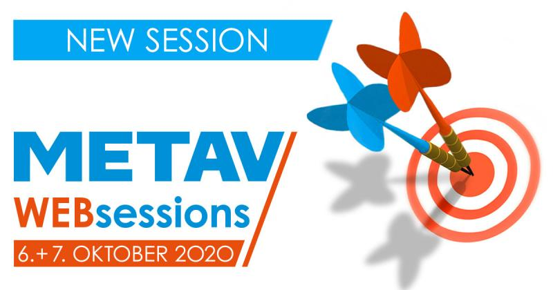 METAV Web-Sessions starten ab dem 06. Oktober 2020.