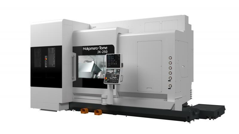 Mit seiner neuesten Werkzeugmaschine, der JX-250, setzt Nakamura-Tome einen Meilenstein in der Metallbearbeitung.