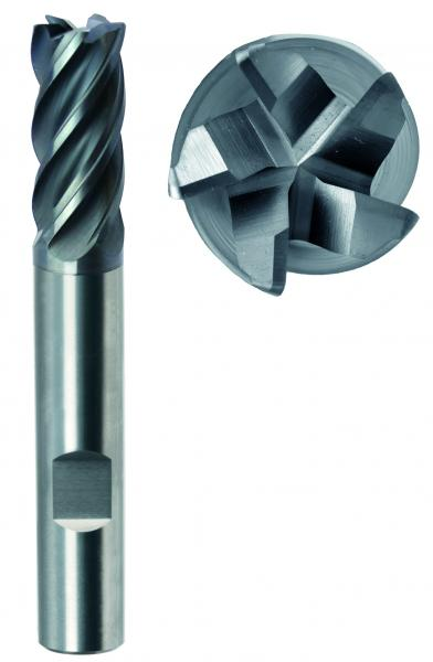 Der neue Schaftfräser 35502 überzeugt als Allround-Talent und mit hohem Zeitzerspanungsvolumen.