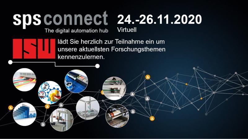 Das ISW auf der SPS Connect 2020