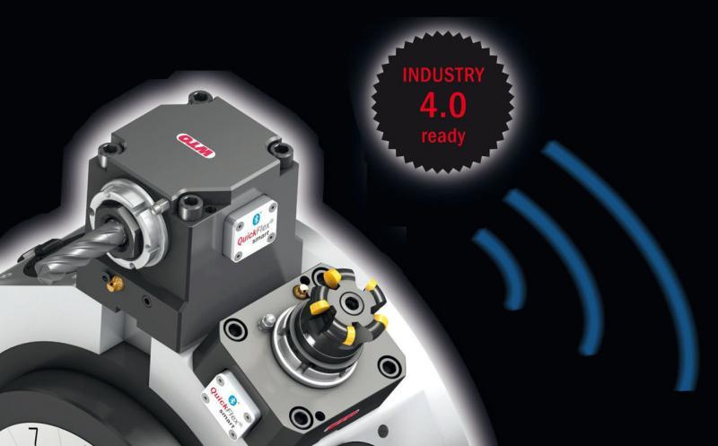 QuickFlex® smart – angetriebene Werkzeughalter von WTO mit intelligenter Überwachung