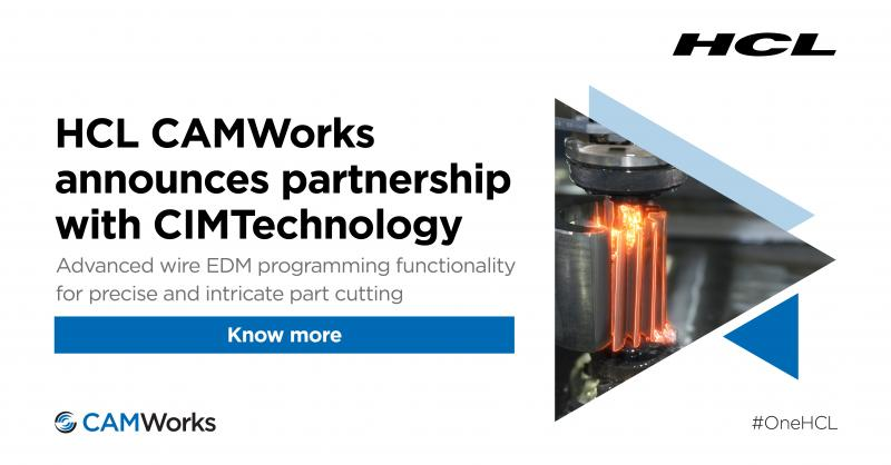 HCL CAMWorks® Announces Partnership with CIMTechnology. The partnership between CAMWorks and CIMTechnology will allow customers of both companies access to a culmination of technology and a wider range of CNC programming Read More