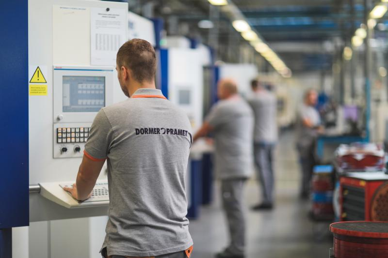 Dormer Pramet is working with IBM to evaluate key stages of its production processes to further improve the quality of its cutting tools.