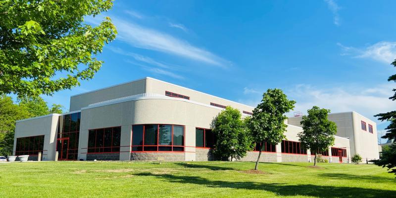 Das Gebäude der Vertriebsniederlassung Hermle USA Inc. in Milwaukee/WI