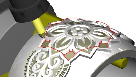 German software developer SCHOTT SYSTEME GmbH has introduced new industrial engraving and carving strategies within their Pictures by PC CAD / CAM Software.