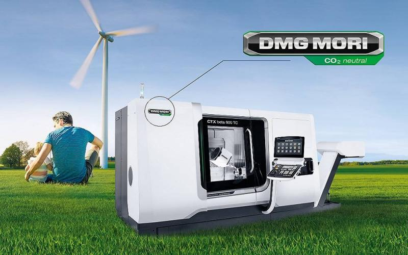 Sustainably and comprehensively standing up for the environment: DMG MORI will manufacture all machines completely climate-neutral from 2021 – from the raw materials to delivery.