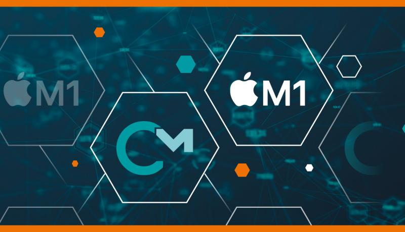 The new CodeMeter 7.20 supports Apple M1 architectures and Apple Big Sur latest generation operating system