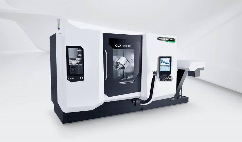 Weltpremiere CLX 450 TC: Um den steigenden Produktionsanforderungen mit kleineren Stückzahlen und größerer Teilevielfalt gerecht zu werden, etabliert DMG MORI mit der CLX TC eine neue Baureihe.