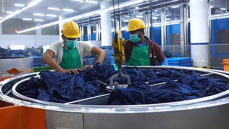 AGI Denim now recycles 4.4 million gallons of water each month as a result of its new wastewater treatment plant.