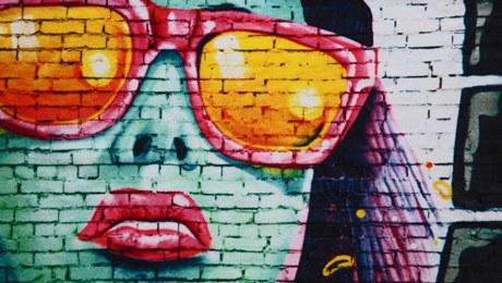 Streetart on the beach