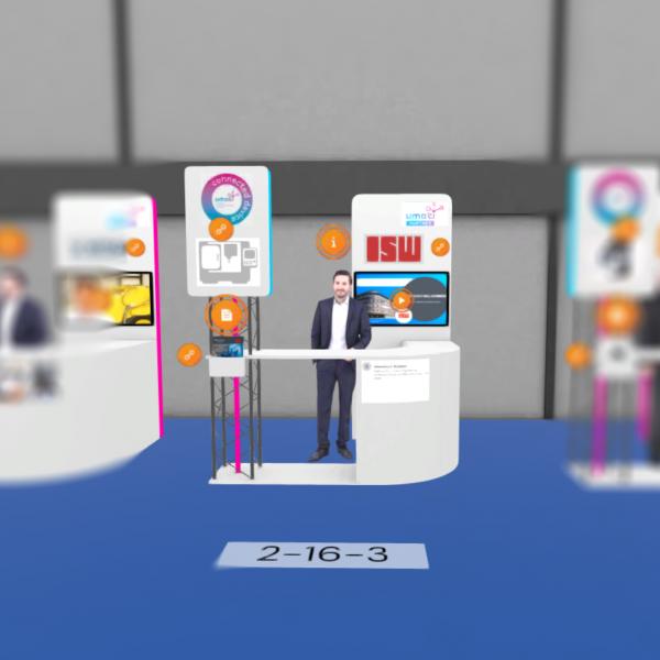 ISW Partner-Stand in Halle 2 Stand 16-2 auf der METAV digital