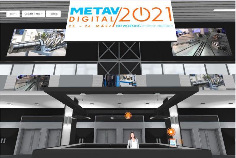 Entrance hall to METAV digital