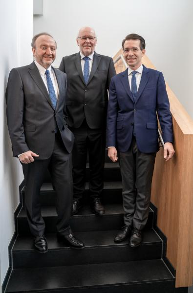 Bernd Rothenberger, Josef Preis, Christoph Müller-Mederer
