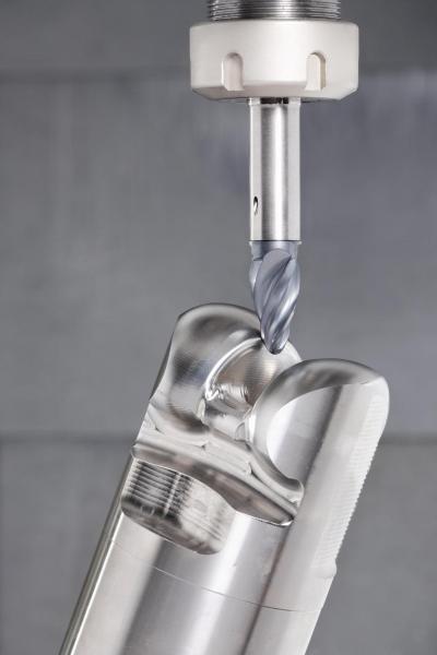Die Werkzeuge sind zum Vorschlichten, Schlichten oder 3D-Profilfräsen in der Luft- und Raumfahrtindustrie, dem Werkzeug- und Formenbau sowie der Medizintechnik konzipiert.