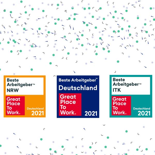 Dies ist das achte Jahr in Folge, dass ModuleWorks als Top-Arbeitgeber in drei verschiedenen Kategorien ausgezeichnet wurde. Die Auszeichnung wird von dem internationalen Forschungs- und Beratungsinstitut Great Place to Work® verliehen, das Unternehmen bei der Entwicklung ihrer Unternehmens- und Arbeitsplatzkultur unterstützt.