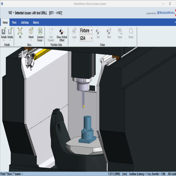 HYUNDAI WIA is using ModuleWorks CNC software technology to enhance its smart factory concept. Integrated in the HYUNDAI WIA iTROL smart machining platform, the ModuleWorks technology furthers HYUNDAI WIA's vision of intelligent machining systems that offer enhanced monitoring, efficiency and protection as well as safe, cost-efficient operator training.