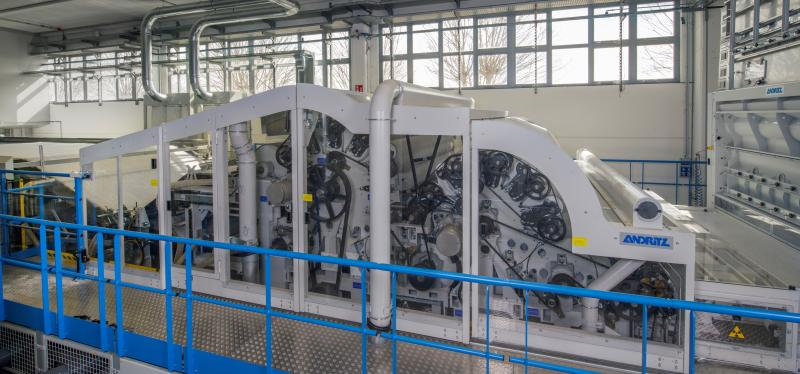 ANDRITZ receives order for a new batt forming line for stitchbonding from Pratrivero, Italy