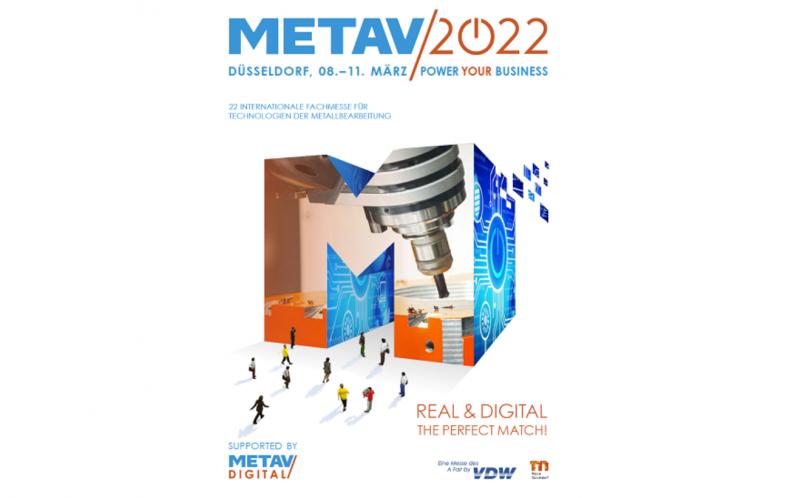 METAV 2022 – Anmeldeunterlagen verfügbar!