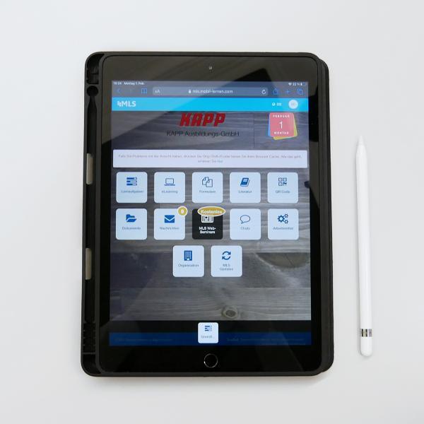 KAPP NILES Ausbildung mit iPad und MLS