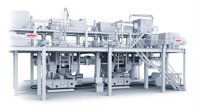 The Oerlikon Nonwoven Meltblown technology, a highly competitive solution.