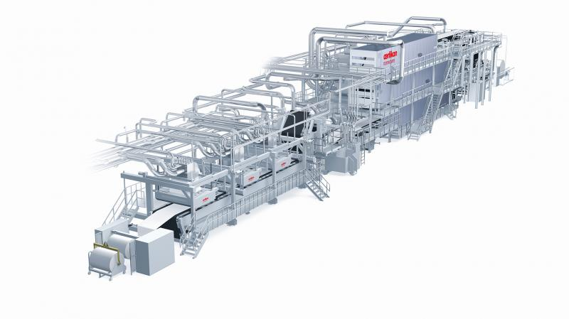 Also ideal for recycling - Oerlikon Nonwoven Airlaid Technology.