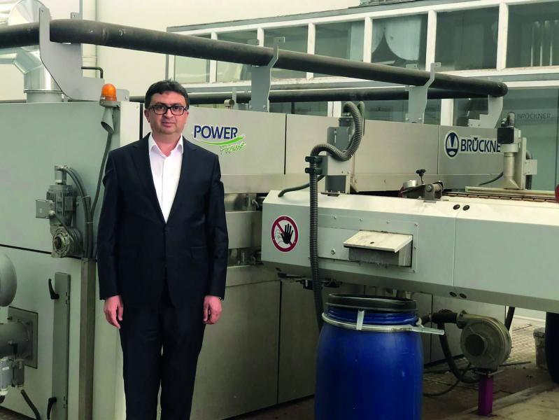 Hayri Taşdemir, General Manager of the Elif Iplik Group