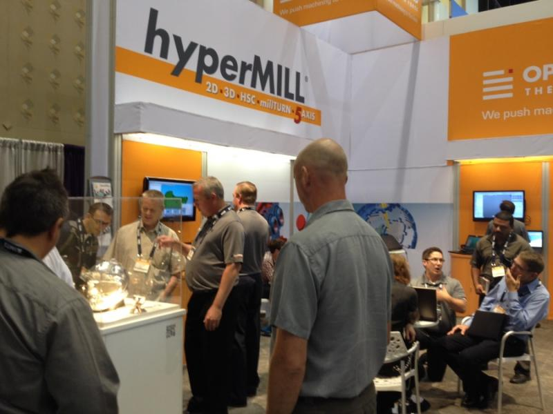 OPEN MIND successful at IMTS. Image source: OPEN MIND