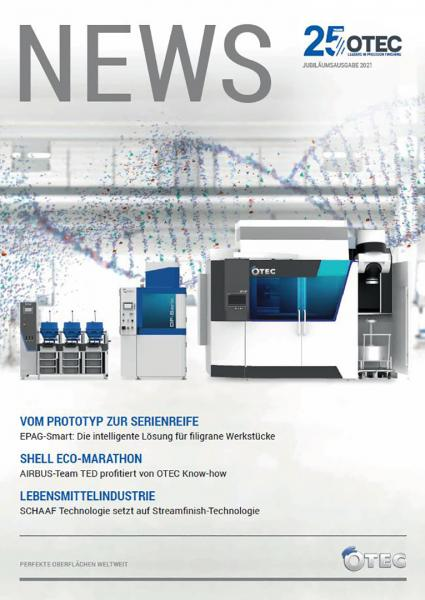 Neues OTEC Kundenmagazin