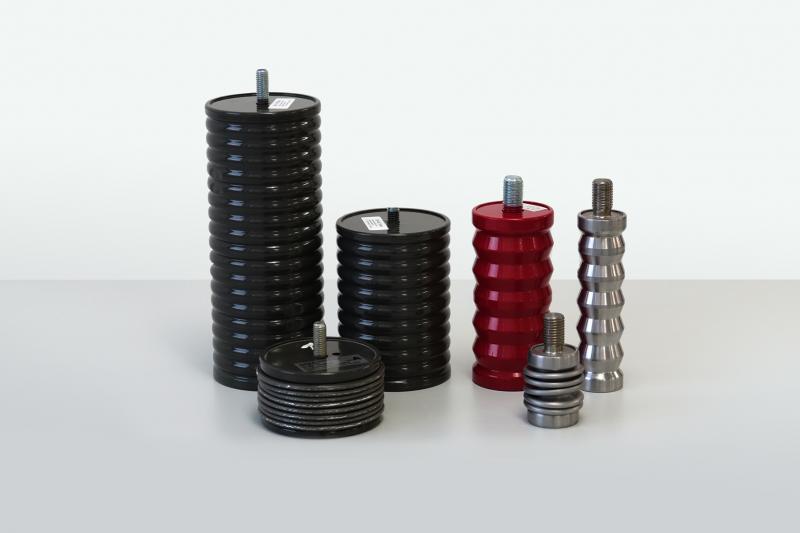Die neuen Crash Dämpfer für den Einmalgebrauch von ACE sind aus Aluminium oder aus Stahl gefertigt und dienen vor allem Not-Stopp-Aufgaben