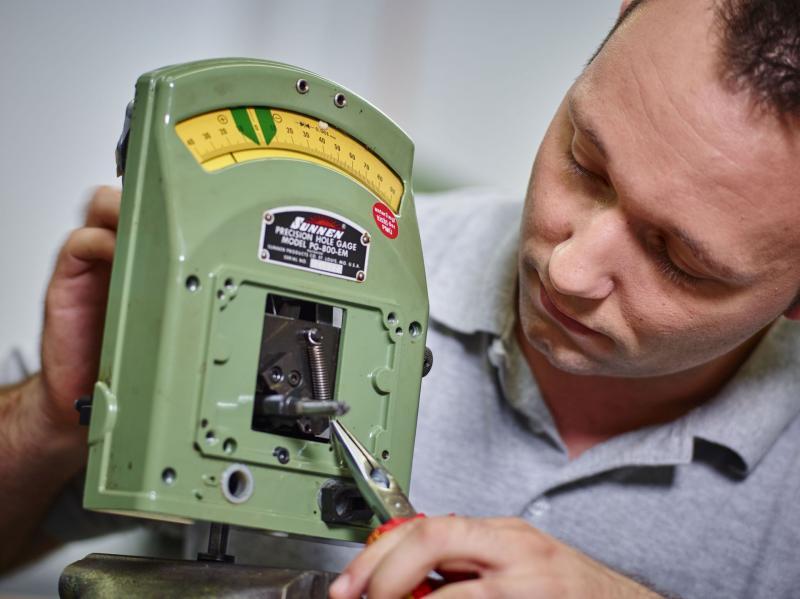 Messgeräte werden mit Sunnen-spezifischer Fachkompetenz instandgesetzt, wodurch sich für die Kunden zahlreiche Vorteile ergeben.