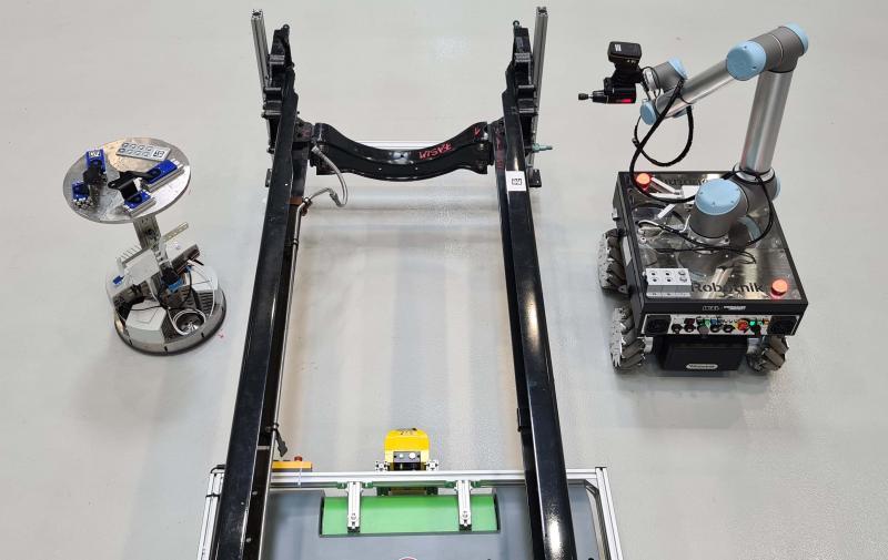 Mobile Roboter zur Durchführung von Schrauboperationen