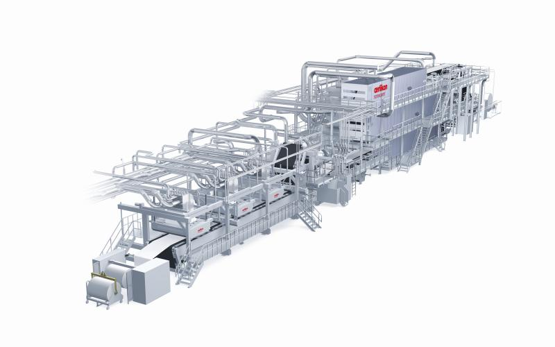 Also ideal for use in recycling – the Oerlikon Nonwoven airlaid technology.